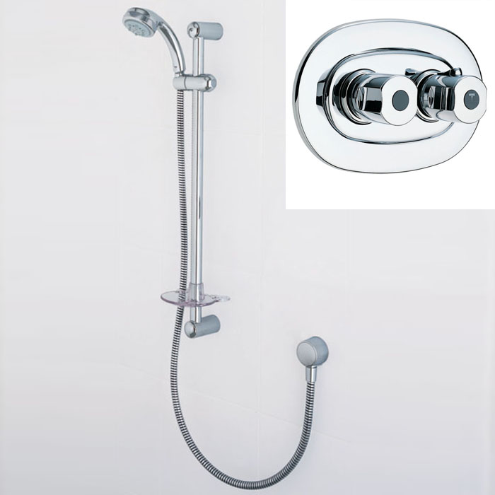 Merrows Bathrooms and Showers: Trevi Therm Built-In Thermostatic ...