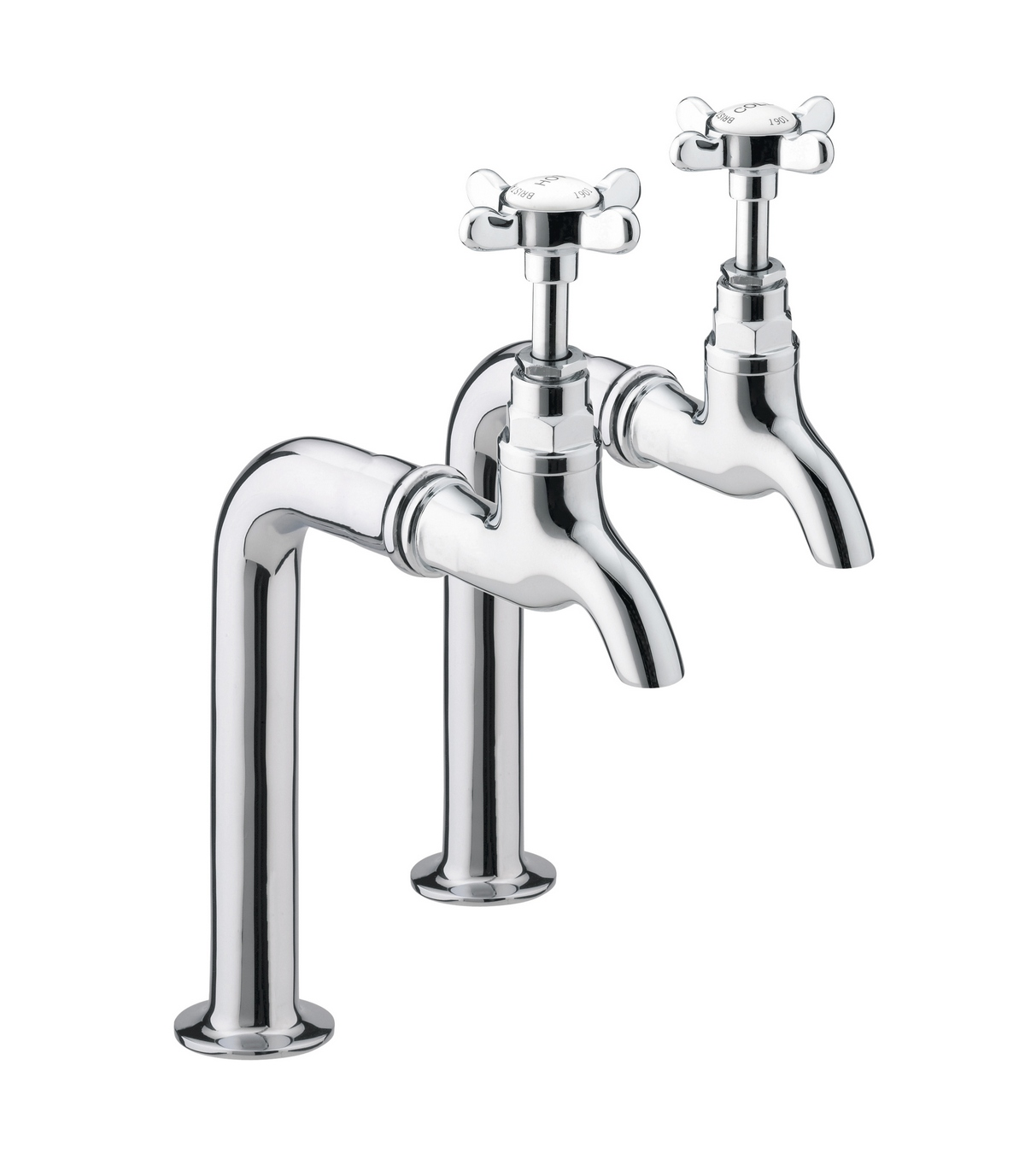 Merrows N Bib C 1901 Bib Taps Chrome Plated