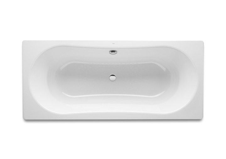 Merrows 221670000 Duo Plus Double Ended Steel Bath 1800 X 800mm With Anti Slip Excl Legs 0